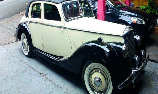 Sodré Santoro realiza leilão especial de carros antigos